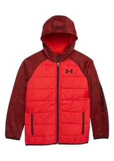 Under Armour Day Trekker Water Resistant ColdGear® Hooded Puffer Jacket (Big Boys)