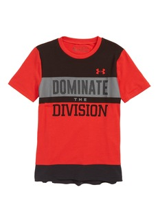 Under Armour Dominate the Division HeatGear® T-Shirt (Big Boys)