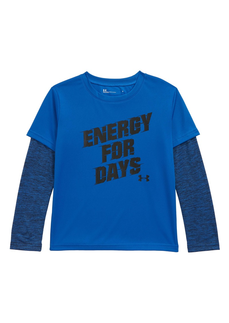 Under Armour Energy For Days Layered T-Shirt (Toddler Boys & Little Boys)