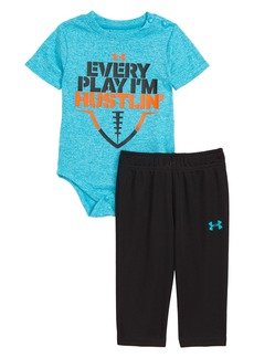 Under Armour Every Play I'm Hustlin' Bodysuit & Sweatpants Set (Baby Boys)