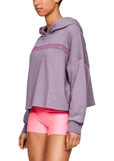Under Armour Fleece Cropped Training Hoodie