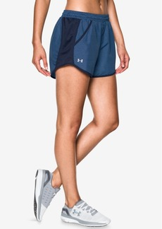 Under Armour Fly By HeatGear Printed Shorts