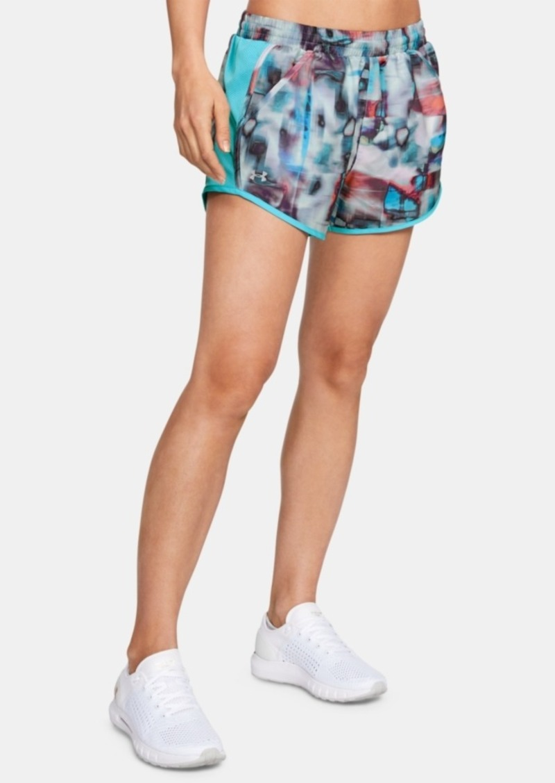 Under Armour Fly-By Printed Running Shorts