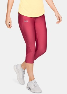 Under Armour Fly Fast HeatGear Capri Running Leggings