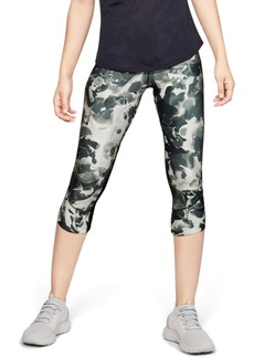 Under Armour Fly Fast HeatGear Printed Cropped Compression Leggings