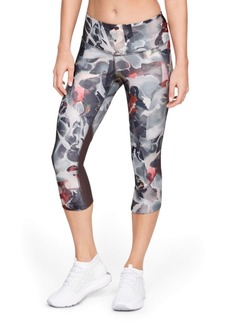 Under Armour Fly Fast HeatGear Printed Cropped Running Leggings