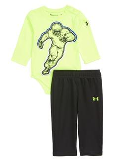 Under Armour Football Player Bodysuit & Mesh Pants Set (Baby Boys)