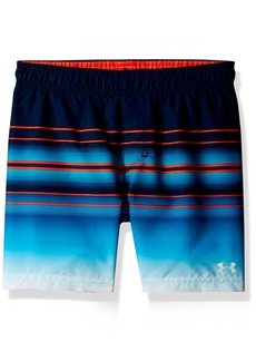 Under Armour Galaxy Stripe Volley Big Boys' Swim Shorts