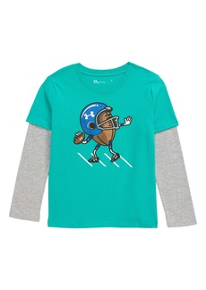Under Armour Go Long Graphic Layered Sleeve T-Shirt (Toddler Boys & Little Boys)