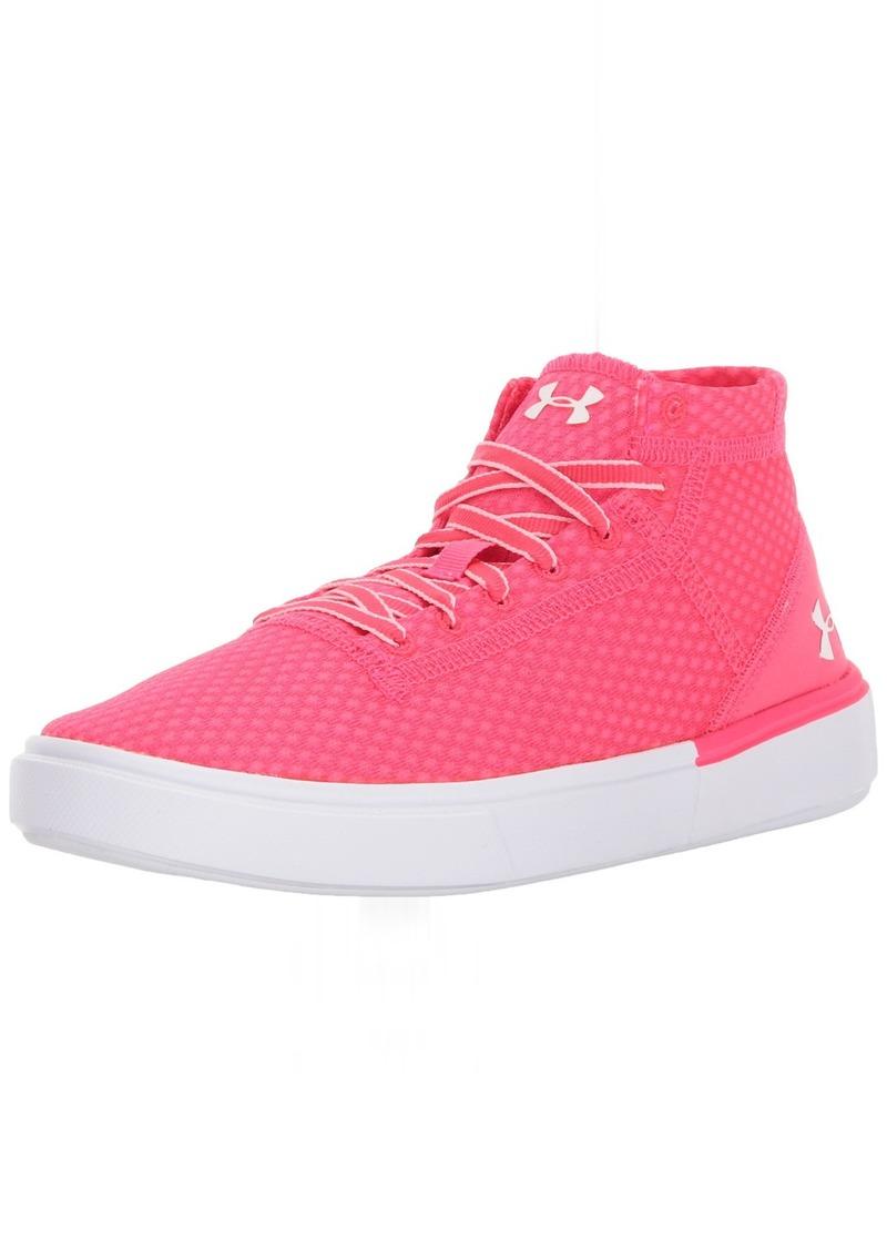 Under Armour Grade School Kickit2 Mid Lightweight Sneaker 975/Penta Pink 5.5