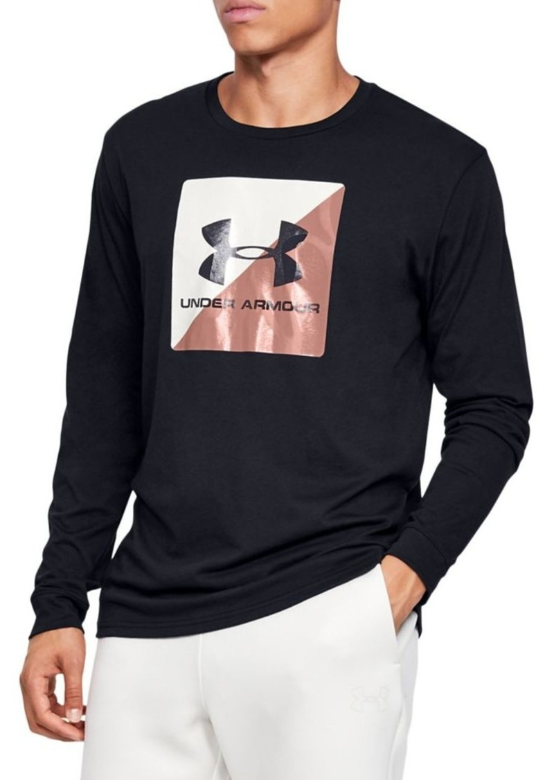 Under Armour Graphic Cotton-Blend Shirt