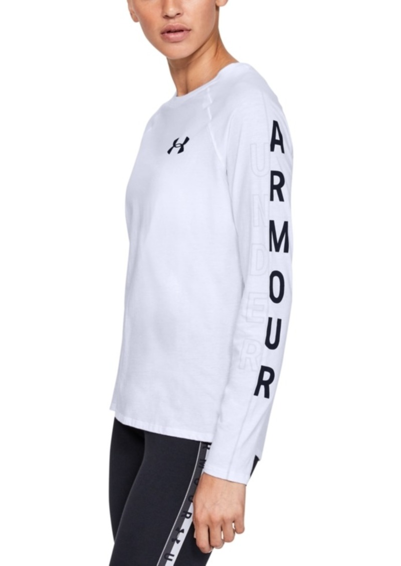 Under Armour Women's Graphic Long-Sleeve Training T-Shirt
