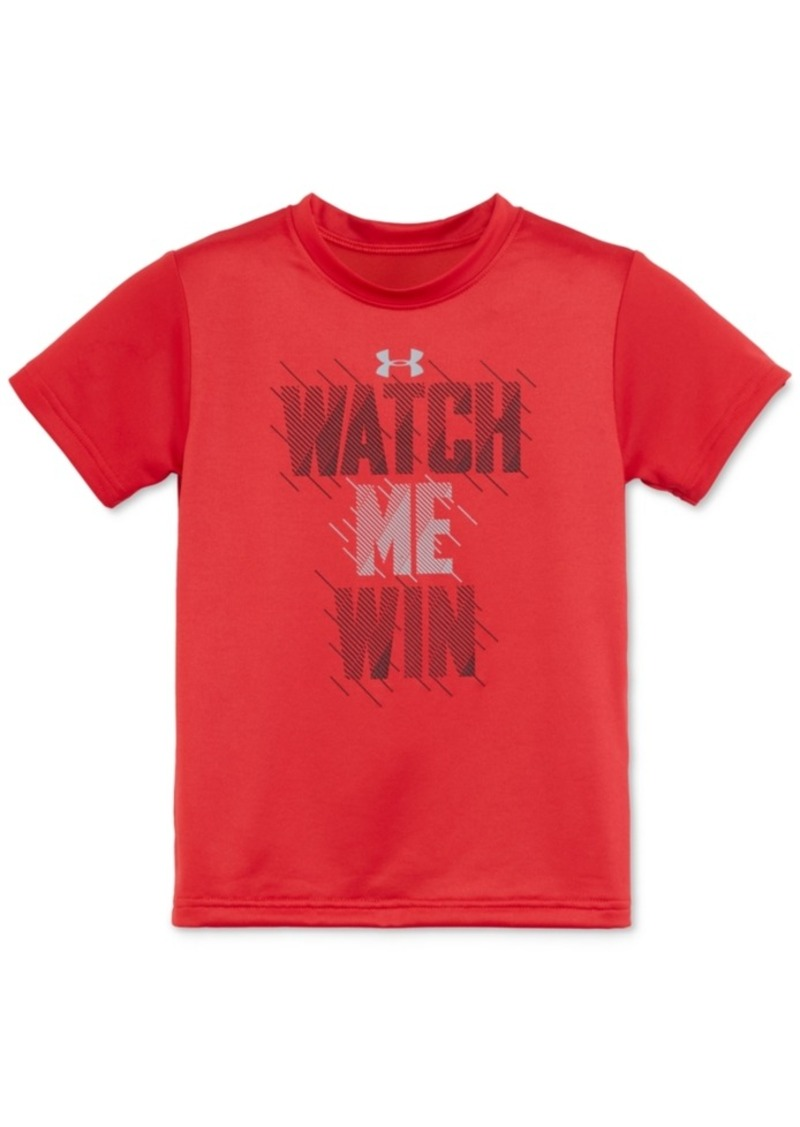 Under Armour Graphic-Print T-Shirt, Toddler & Little Boys (2T-7)