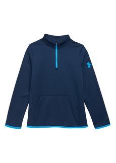 Under Armour Half Zip Armour Fleece® Pullover (Big Boys)