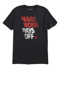 Under Armour Hard Work HeatGear® Graphic T-Shirt (Big Boys)