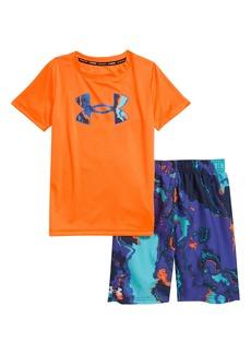 Under Armour Heat Map T-Shirt & Shorts Set (Toddler & Little Boy)
