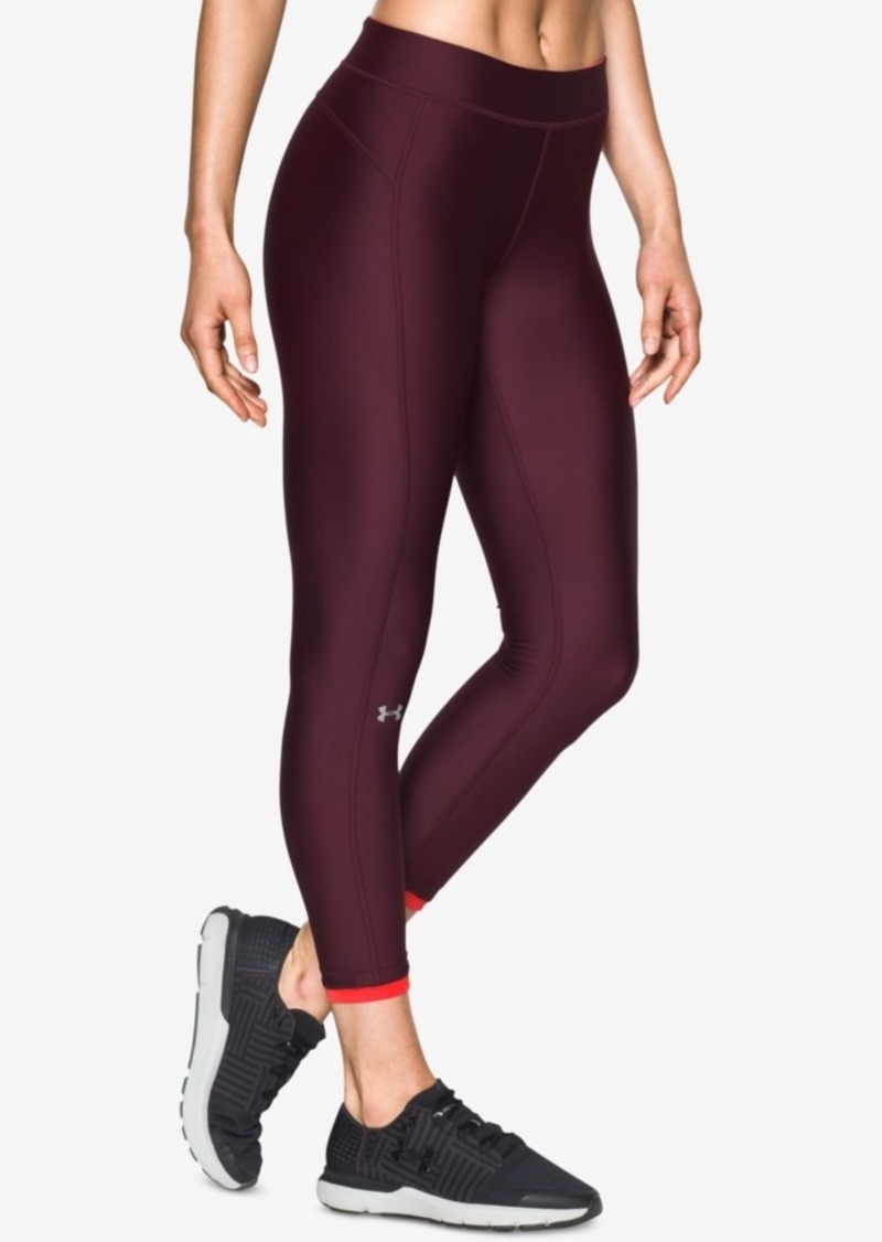 96650560463ca Under Armour Under Armour HeatGear Armour Ankle Crop Training Leggings