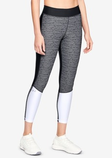 Under Armour HeatGear Colorblocked Ankle Leggings
