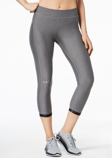 Under Armour Women's HeatGear Compression Ankle Leggings