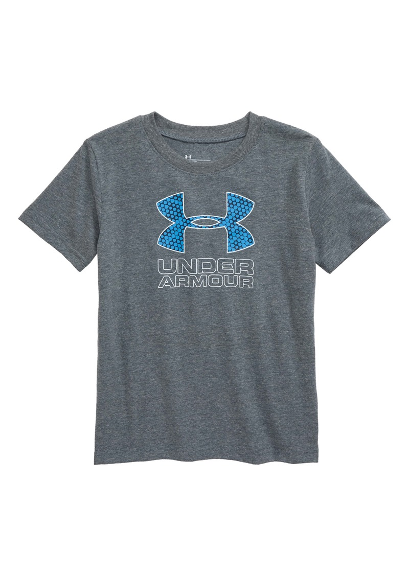 Under Armour HeatGear® Diverge Logo Graphic Tee (Toddler & Little Boy)