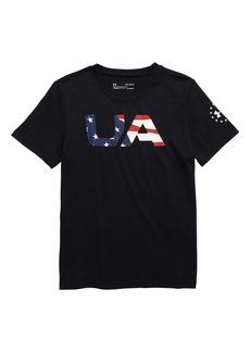 Under Armour HeatGear® Freedom Graphic T-Shirt (Big Boys)