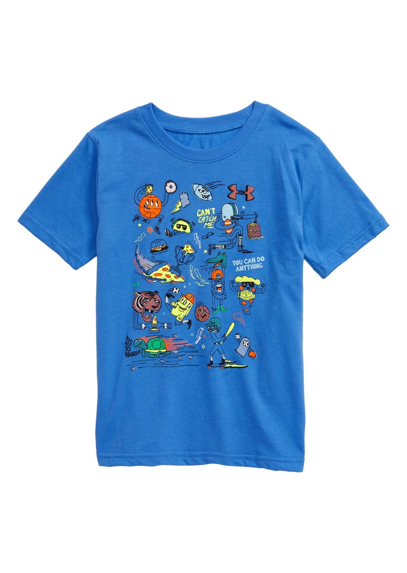 Under Armour HeatGear® Future Show Graphic Tee (Toddler & Little Boy)