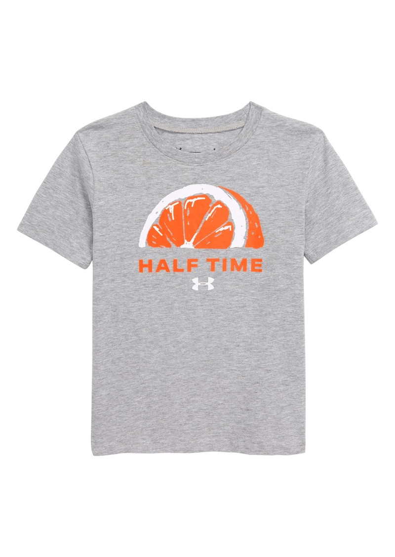 Under Armour HeatGear® Half Time Graphic Tee (Toddler & Little Boy)