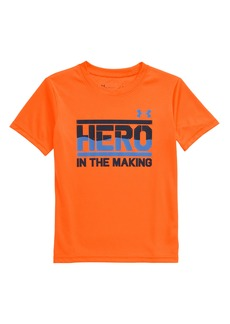 Under Armour HeatGear® Hero in the Making Graphic Tee (Toddler & Little Boy)