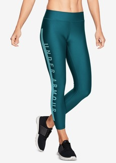 Under Armour HeatGear Logo Compression Cropped Leggings