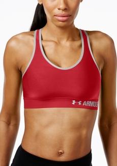Under Armour HeatGear Mid-Impact Compression Sports Bra