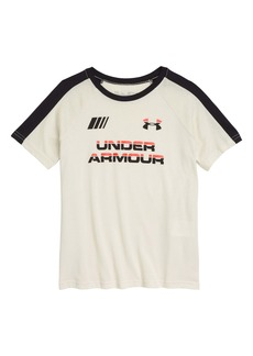 Under Armour HeatGear® Moto Wordmark Graphic Tee (Big Boy)