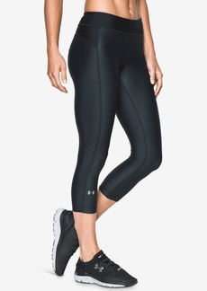 Under Armour HeatGear Printed Cropped Leggings