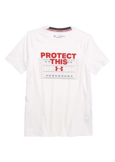 Under Armour HeatGear® Protect this Field Graphic T-Shirt (Big Boys)