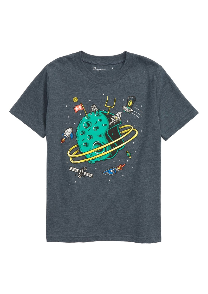 Under Armour Helmet Orbit Graphic T-Shirt (Toddler Boys & Little Boys)