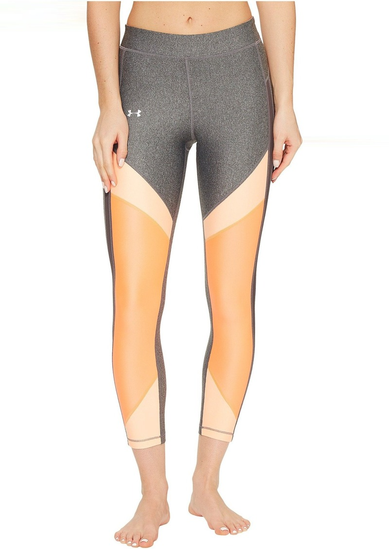 Under Armour HG Armour Color Blocked Ankle Crop Pants