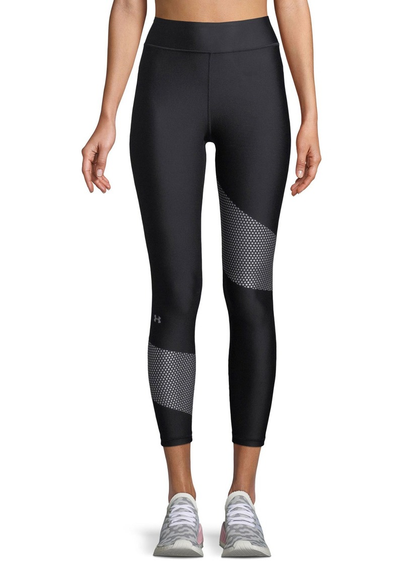 Under Armour High-Waist Cropped Performance Leggings