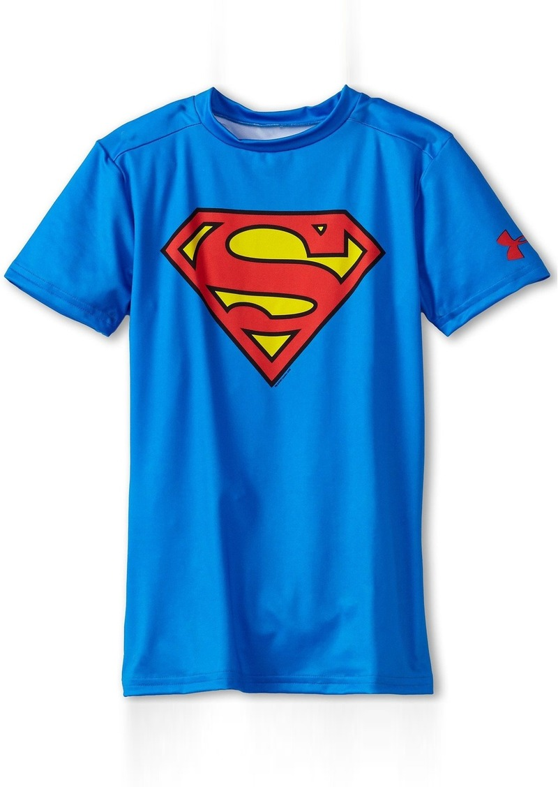 b87eaf6c622 Under Armour Kids Alter Ego DC® Comics Superman S S Fitted Shirt (Little