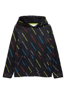 Under Armour Kids' Armour Fleece® Patterned Hoodie (Big Boy)