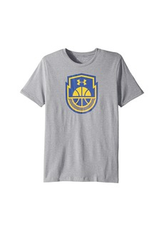 Under Armour Basketball Icon Short Sleeve Tee (Big Kids)