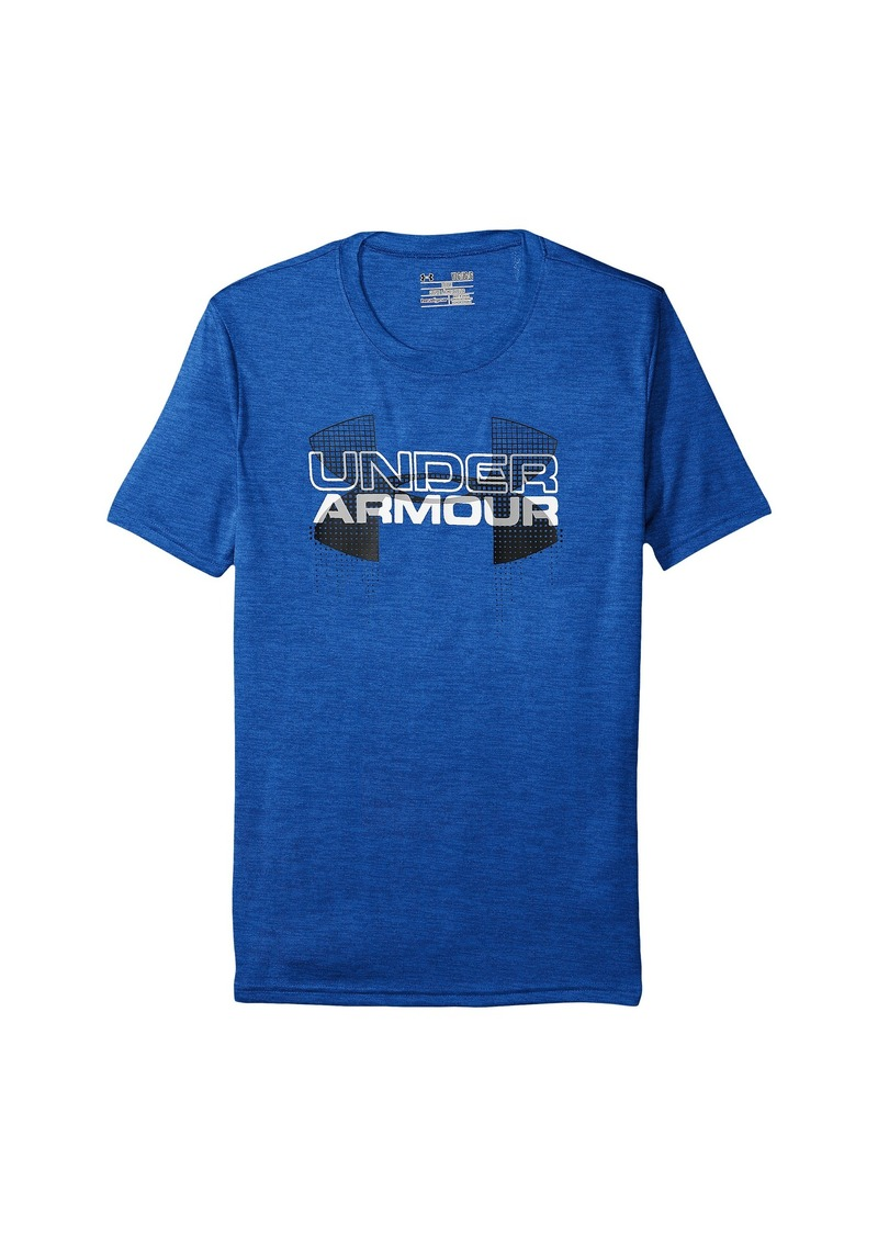 Under armour under armour kids big logo hybrid short for Under armour shirts for kids