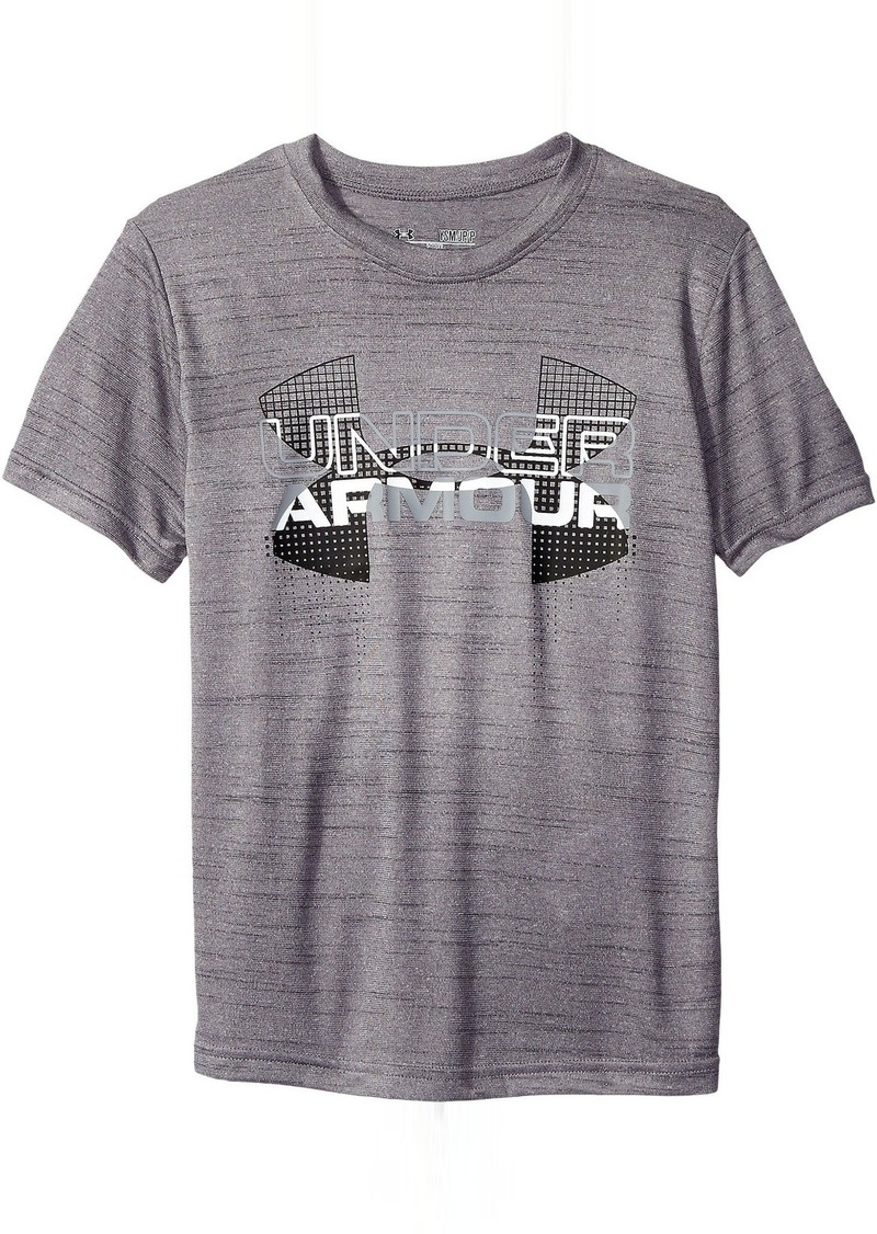 Under Armour Kids Big Logo Hybrid Short Sleeve Tee (Big Kids)