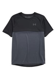 Under Armour Kids' HeatGear® Tech Colorblock T-Shirt (Big Boy)