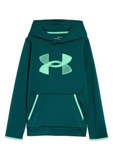 Under Armour Kids' Logo Fleece Hooded Sweatshirt (Big Boy)