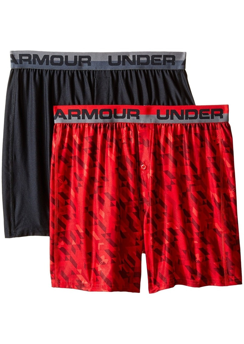 Under Armour O-Series Boxer Shorts (Big Kids)