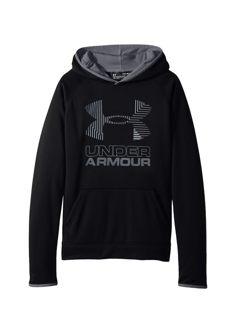 Under Armour SG Armour Fleece Solid Big Logo Hoodie (Big Kids)