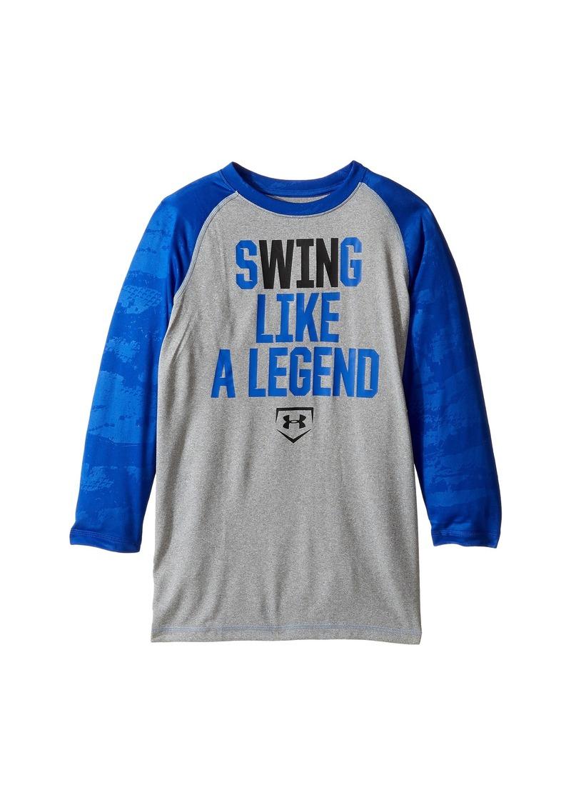 Under Armour Kids Swing Like a Legend 3/4 Tee (Big Kids)