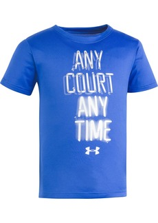 Under Armour Little Boys' Any Court Any Time Short Sleeve Tee