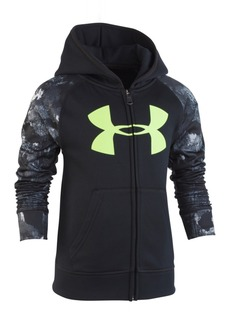 Under Armour Little Boys Bedrock Camo Zip-Up Hoodie