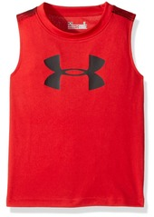 Under Armour Little Boys' Big Logo Sandstorm Tank