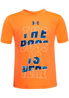 Under Armour Toddler Boys Boss-Print T-Shirt